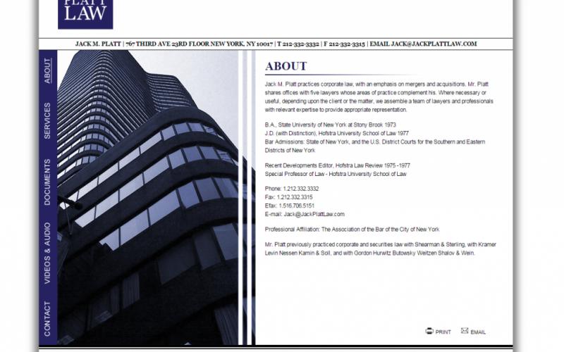 jack platt law website