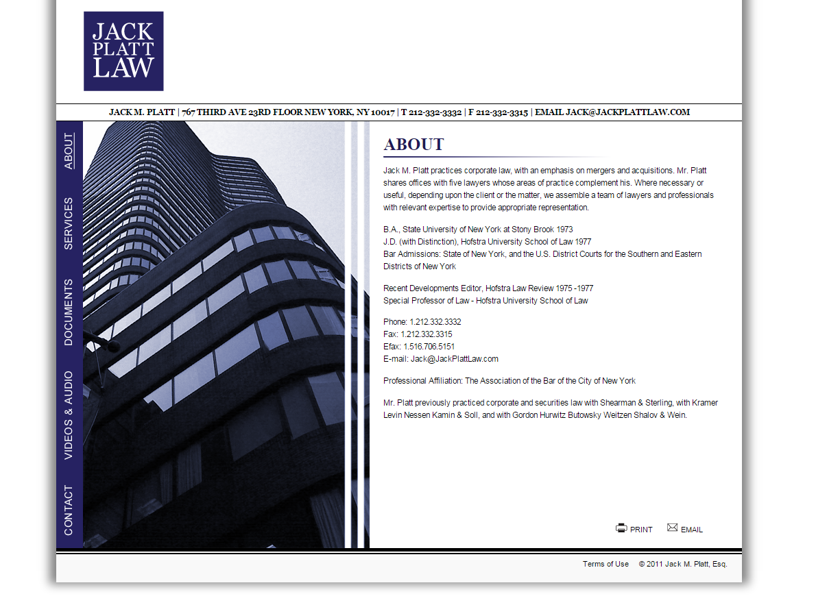 jack platt law website