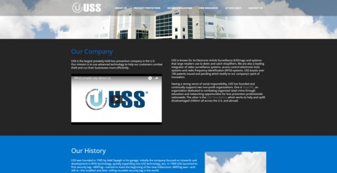 uss website