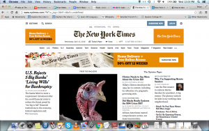 web usability nytimes
