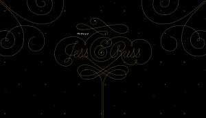 Jess & Russ parallax scrolling websites