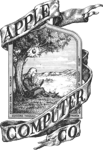 old apple logo, not a responsive logo