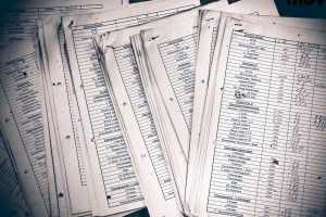 cluttered documents, why going paperless is a good idea