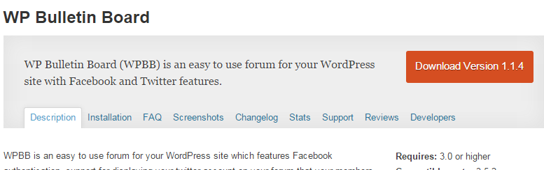 wordpress-bulletin-board