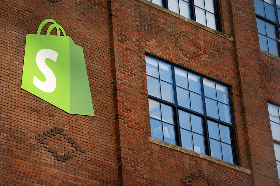 Shopify builds brick
