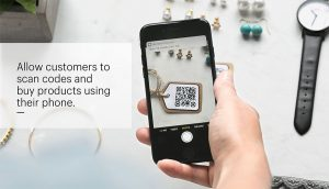 QR Code on E-Commerce