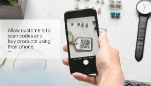 QR Code on E-Commerce