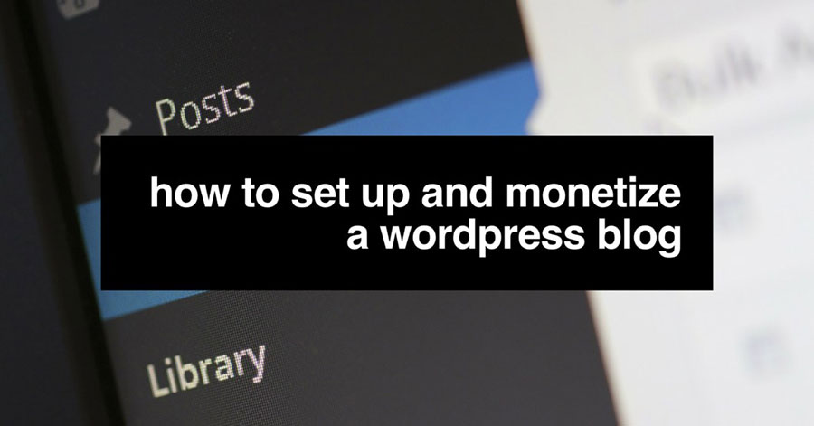 WordPress monetization
