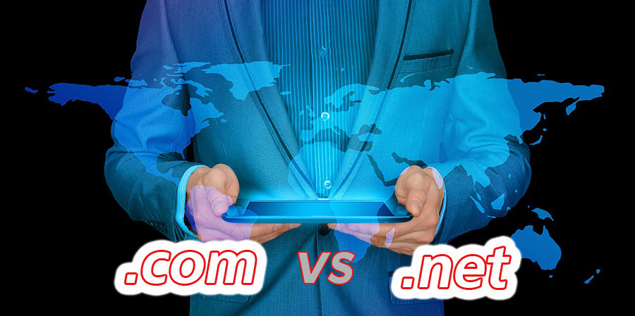 Com vs Net – the Difference between Domain Extensions